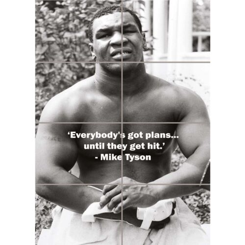 Mike Tyson Boxing Legend New Giant Wall Art Picture Print Picture Poster
