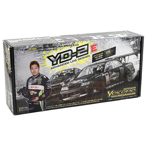 Yokomo 1:10 YD-2E RWD EP Competition Drift RC Cars Chassis Kit w//Gyro #DP-YD2EG