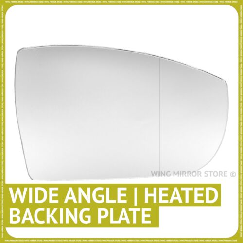 Right hand side for Ford S-Max 06-16 Wide Angle heated wing mirror glass plate