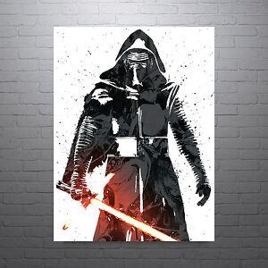 Star Wars Kylo Ren Poster FREE US SHIPPING