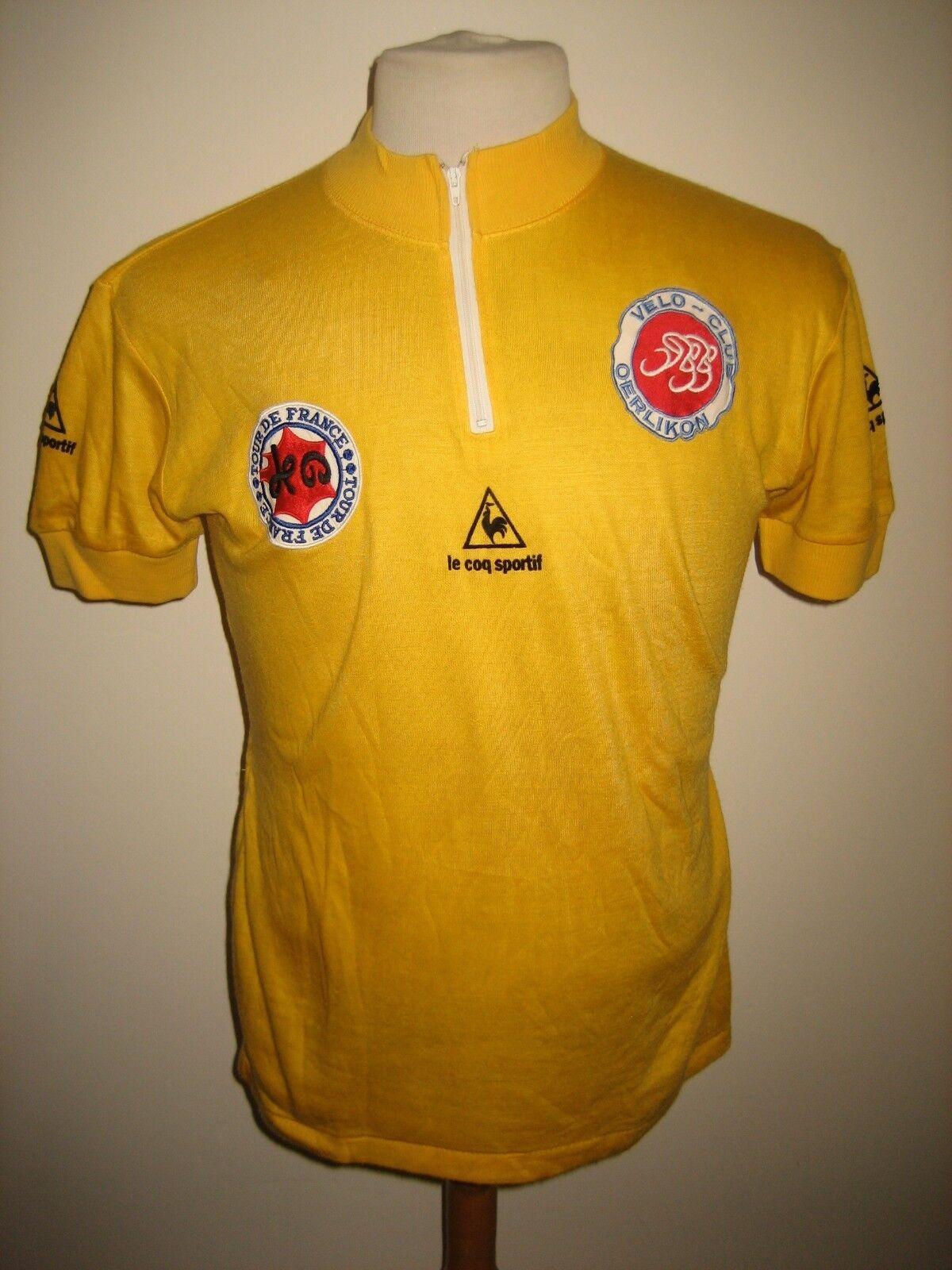 Tour de France 1980 vintage jersey shirt cycling maillot maglia maglia maglia trikot Größe 3 33f111