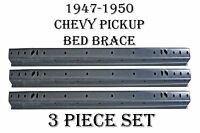 1947 1948 1949 1950 Chevy Pickup Truck Bed Floor Cross Rail Brace Support 3pc