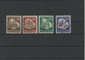Germany-GDR-vintage-yearset-1951-Mi-289-292-Postmarked-Used-More-Sh-Shop-3