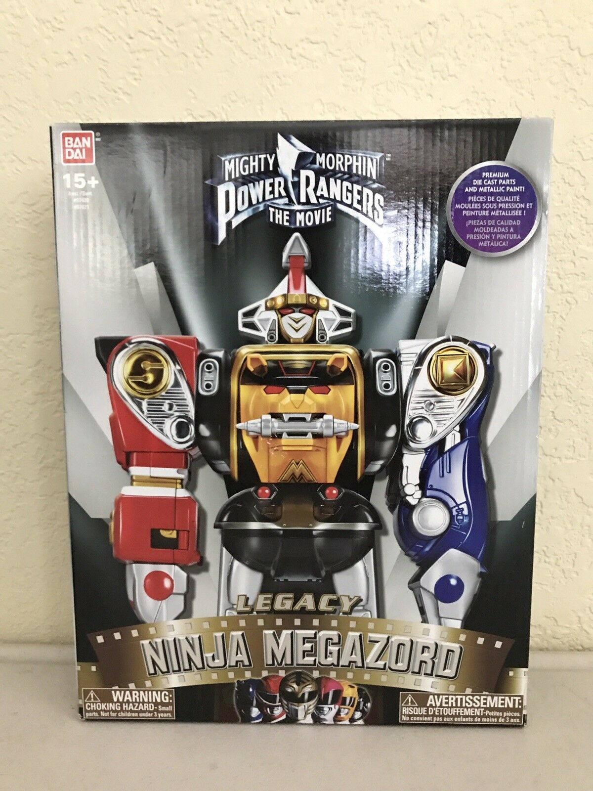 Mighty Morphin Power Rangers Legacy Ninja Megazord  The Movie