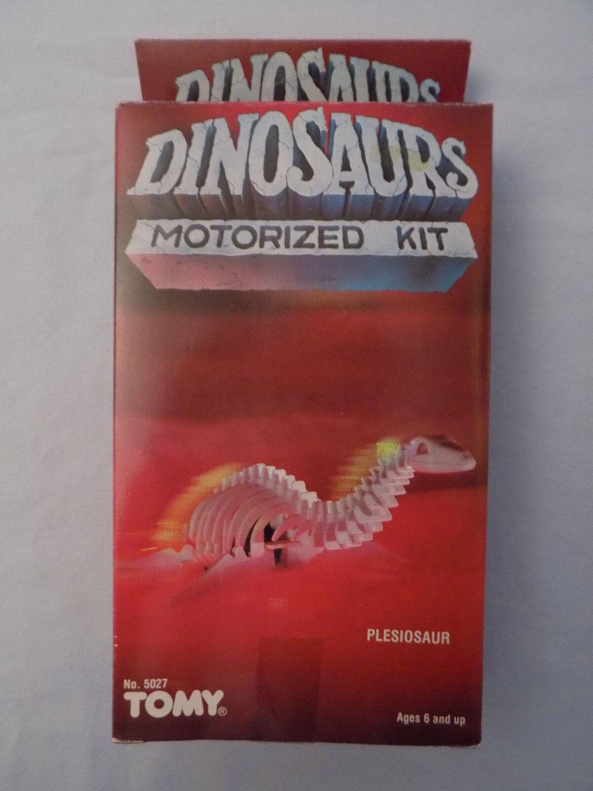 Jahrgang 1984 mein motor - dinosaurier plesiosauriers miniatur - versiegelten kiste