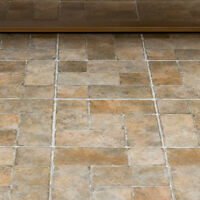 Vinyl Floor Tiles Self Adhesive Peel And Stick Stone Kitchen Basement Flooring