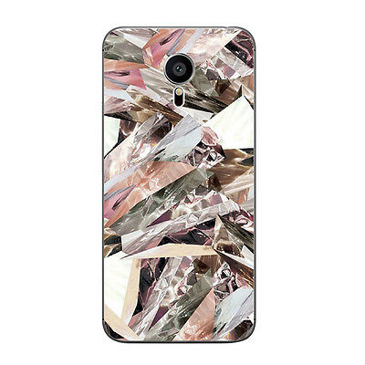 For Meizu M3 Mini Note Soft TPU Case Back Cover Shell Marble Print Mobile Phone