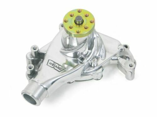 For 1991 GMC Syclone Water Pump Weiand 16125XW 4.3L V6