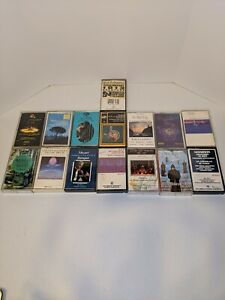 Lot Of 15 Classical Music Cassette Tapes. All complete and in good condition