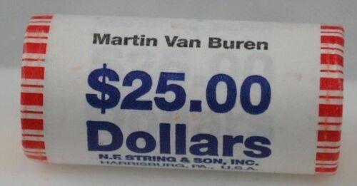 2008 Martin Van Buren Heads//Tails Presidential Dollar U.S Mint Roll