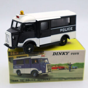 Atlas-Dinky-Toys-566-Citroen-CURRUS-Car-DE-Police-Secours-1-43-Deicast