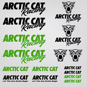 Arctic Cat Racing version 3 Decal 6 Decal