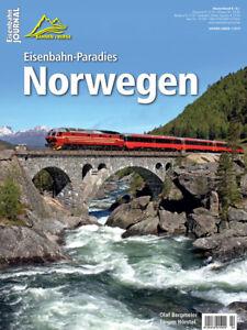 Eisenbahn Journal - Eisenbahn-Para<wbr/>dies Norwegen - Bahnen + Berge 1-2019