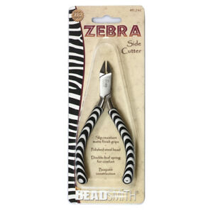 Pratique Beadsmith® Zebra Line Cutter Pliers With Double Spring * Jewelry Tools