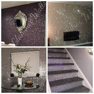 Image Is Loading Glitter Wallpaper Glamour Range
