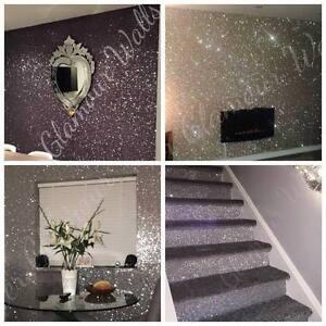 Glitter wallpaper the range