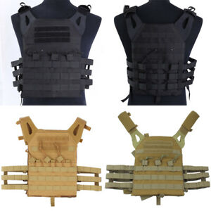 Tactical-Molle-Plate-Carrier-Vest-Military-Army-Airsoft-Hunting-Combat-Vest-Men