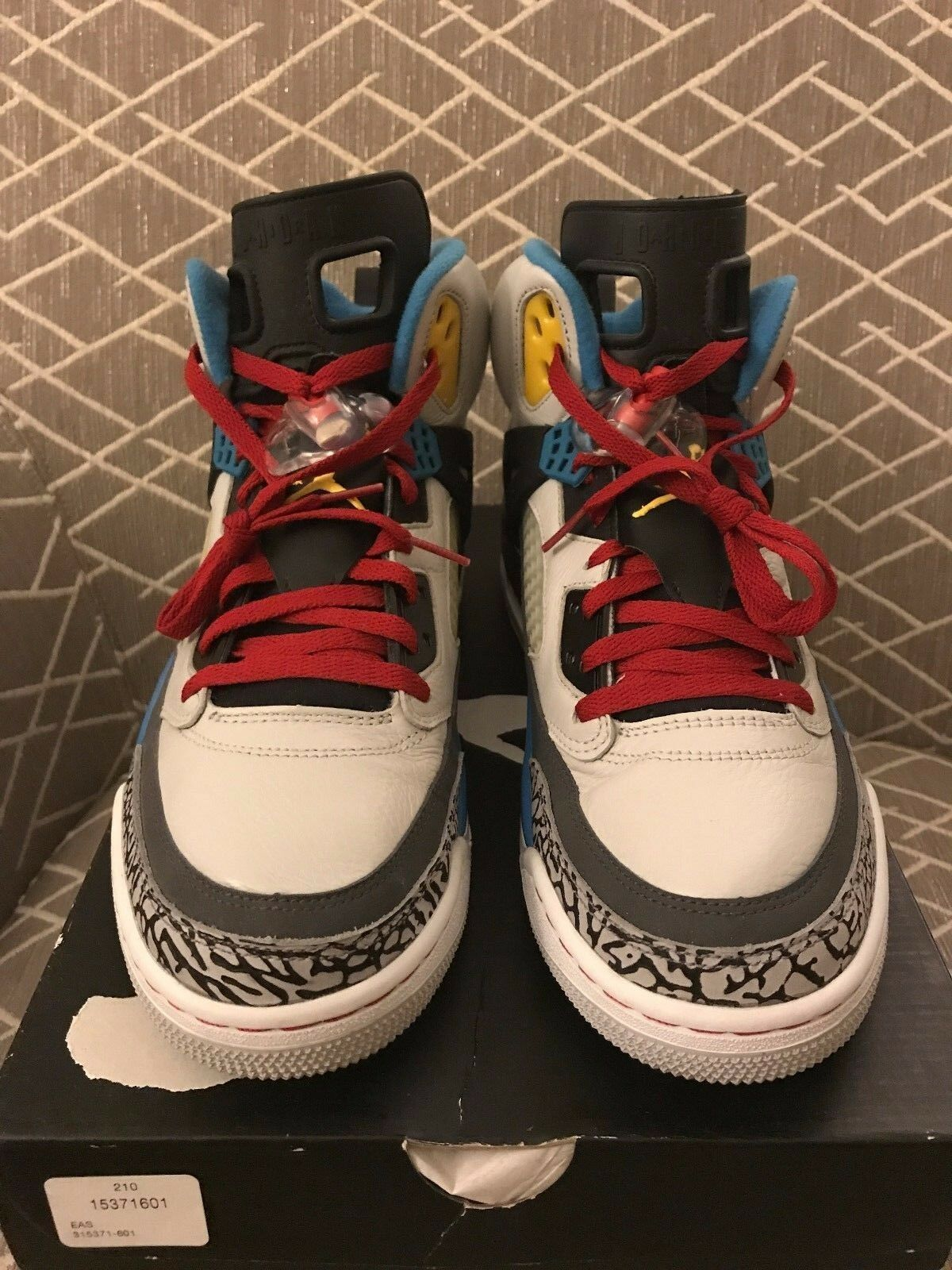 Nike air jordan bordeaux spizike allevati concord space jam yeezy 72-10 nba sz 12