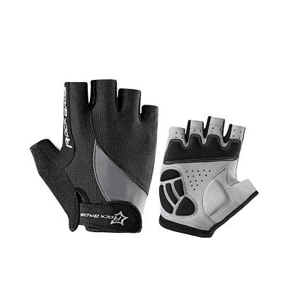 RockBros Cycling Half Short Finger Gloves Shockproof Breathable Sporting Gloves