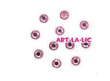 200 Pcs Korea 2.4mm Rhinestones Crystal Gems Nail Art Tips Deco 4 Colors