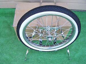 Spare Tire Kit Twisted With Wheel Tire Bike Bmx Lowrider New Ebay