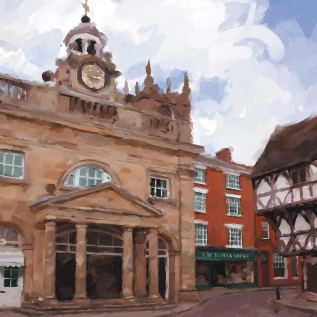 High Quality Fine Art  Blank Greeting Cards of Ludlow Shropshire UK  Free Post!