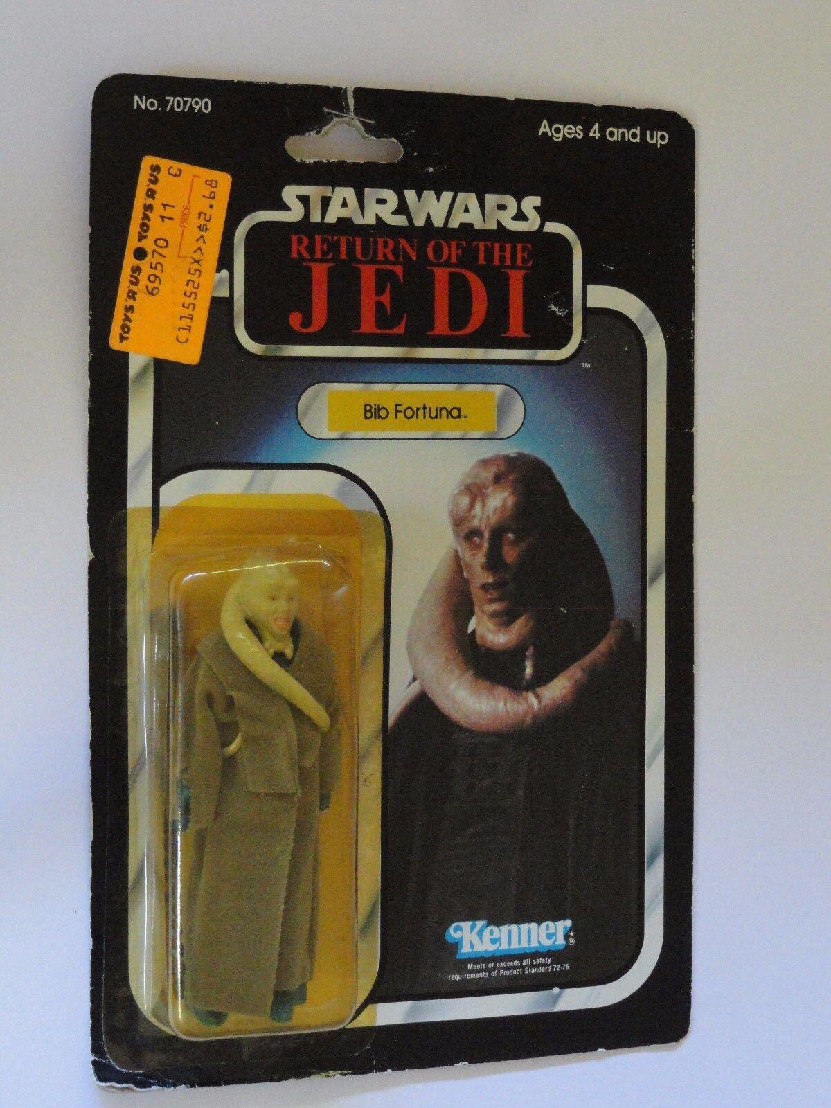 Star Wars Bib Fortuna retorno de las Jedi menta en tarjeta