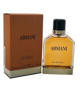 22bb2f32e2 Detalles de ARMANI EAU D'AROMES POUR HOMME profumo uomo edt eau de toilette  100ml NUOVO