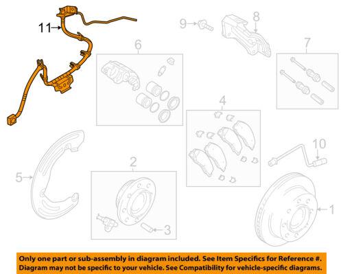 CHRYSLER OEM ABS Anti-lock Brakes-Front Speed Sensor 52122426AD