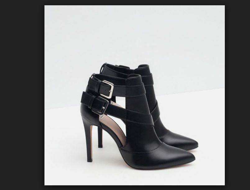 Zara HIGH HEEL ANKLE démarrage STYLE chaussures-High-heels-