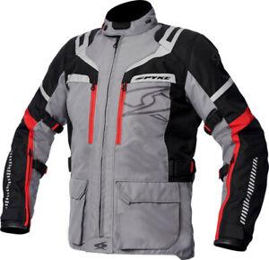 Fabric-Jacket-Spyke-Removable-Meridian-Dry-Grey-Black-Grey-Size-52
