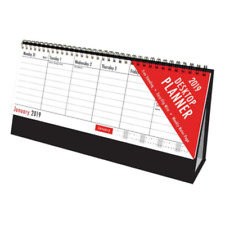2019 Calendar Planner Week To View Easy Flip Wire Desktop Desk Top