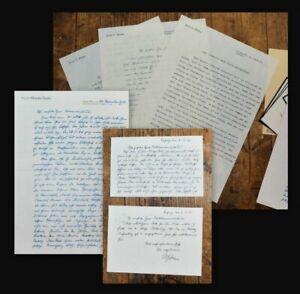 1937-55-Oepke-Albrecht-4-Briefe-2-Postkarten-und-weitere-Dokumente