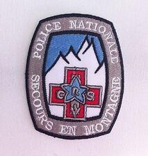 Patch / Ecusson SECOURS EN MONTAGNE Mountain Rescue ski snowboard