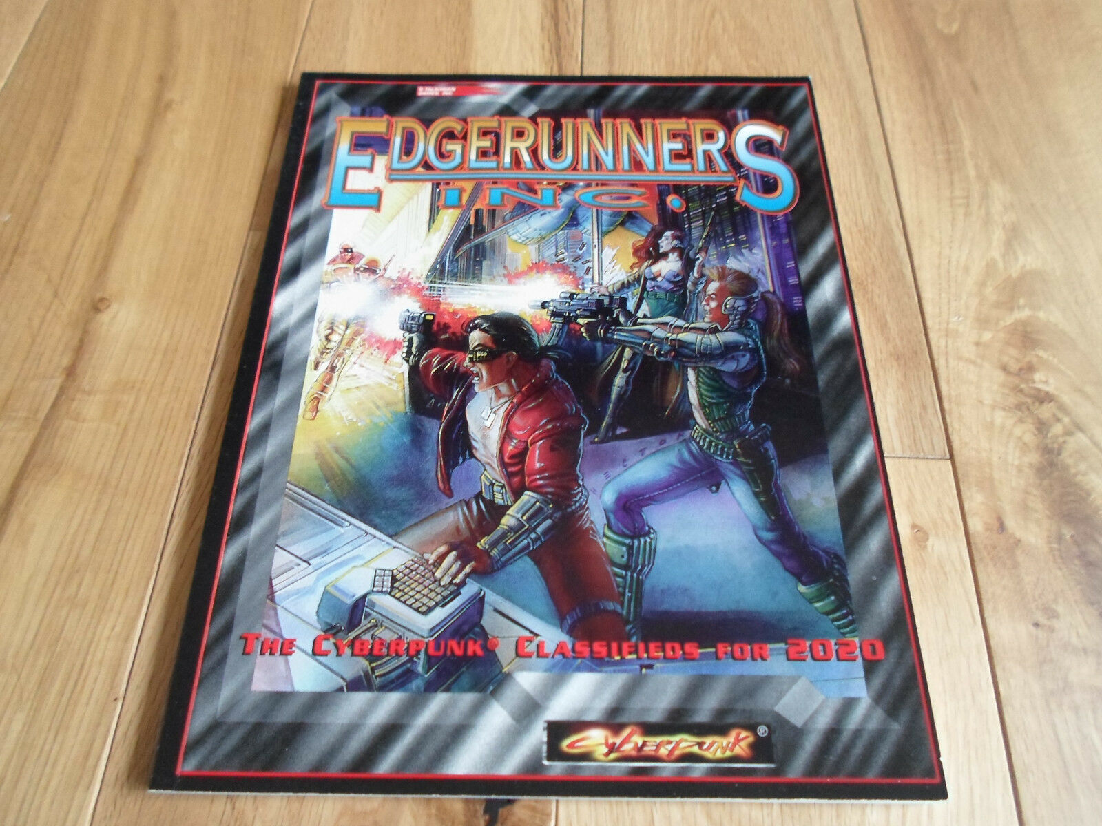 Cyberpunk Edgerunners Inc Supplement (NEAR MINT+)