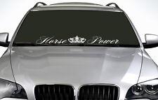 90cm Horse Power ANY COLOUR Windscreen Sticker Euro JDM Drift Car Vinyl Decal