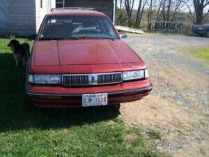 1992 Oldsmobile Cutlass OWNERS MANUAL