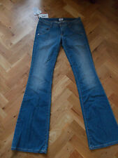 """BNWT incontrato GIRLFLAIR Donna Jeans Bootcut mozzafiato MADE IN ITALY 29"""" x 36"""""""