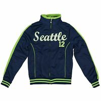 Seattle Football 12 Fan Women's Seattle 12 Track Jacket (run Small)