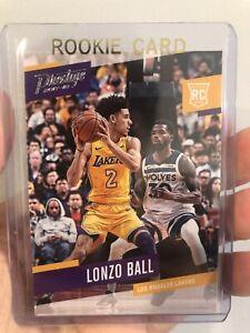 2017-18-Panini-Prestige-152-Lonzo-Ball-RC-Rookie-LA-Lakers-NO-Pelicans-QTY