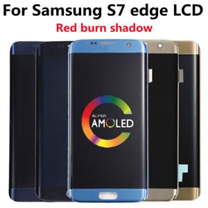 LCD Display Touch Screen Digitizer Fr Samsung Galaxy S7 Edge G935T G935F Burn in