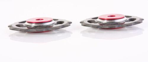 6.5g Carbon Fiber Jockey Wheels with Ceramic Bearings for Shimano /& SRAM