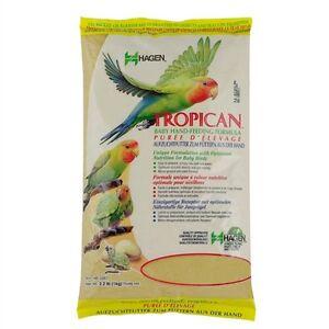 HAGEN TROPICAN HANDREARING FORMULA MASH HANDFEEDING BABY BIRDS PARROTS 1KG