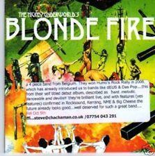 (659N) The Hickey Underworld, Blonde Fire - DJ CD