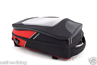 Bagster TANK BAG DRIVER tankbag BAGLUX for tablet touch screen BLACK / RED new