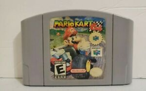 Nintendo-64-Authentic-Mario-Kart-65-N64-Great-Condition-Tested-Same-Day-Shipping
