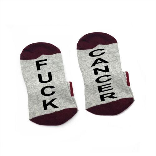 Colon Cancer F##k Cancer Socks cotton elastic comfortable SOCK