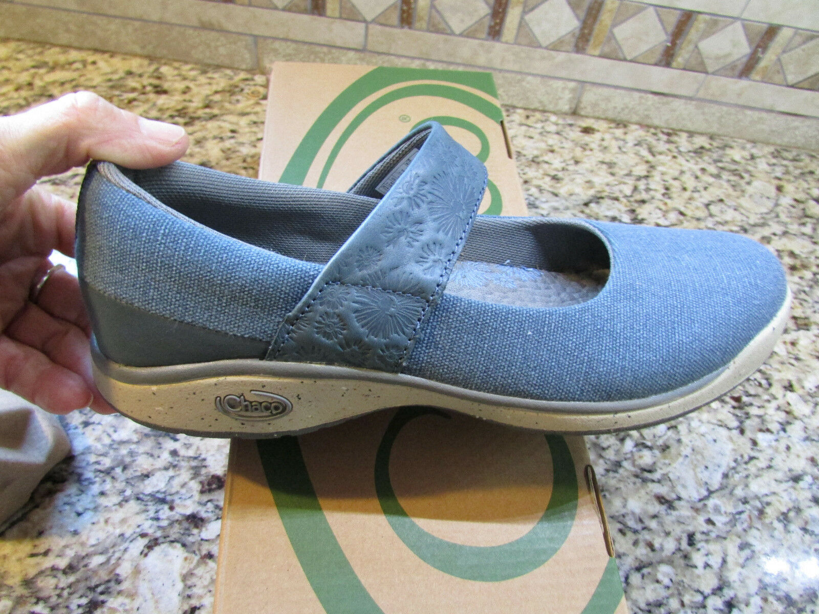 NEWS CHACO GALA MARY JANES SHOES WOMENS 9 BLUE STYLE STYLE BLUE J104608  FREE SHIP 910a29