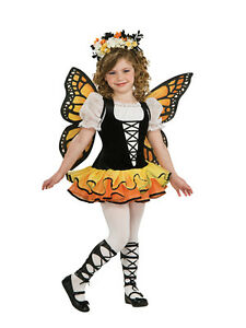 Kids-Monarch-Butterfly-Fairy-Tutu-Princess-Girls-Fancy-Dress-Costume-Outfit