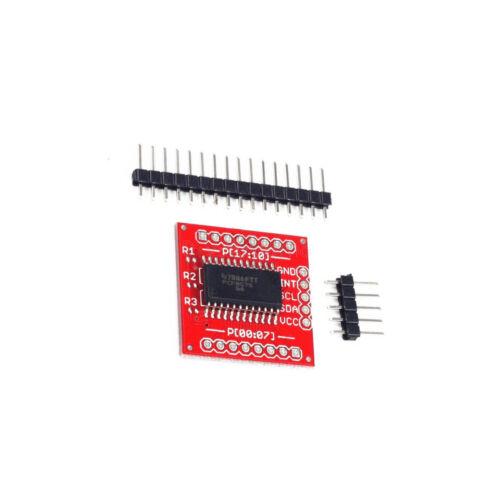 1Stks PCF8575 IIC I2C I//O Extension Shield Module 16 bit SMBus I//O Ports
